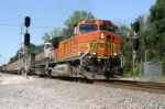 Coal train splits the W.A.S.